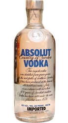 Image of vodka Absolut Clear 40% 0,5l
