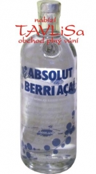 Image of vodka Absolut Berri Acaí 40% 1l