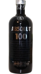 Image of vodka Absolut 100 Clear 50% 1l