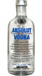 Image of vodka Absolut Clear 40% 0,7l