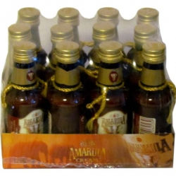 Image of Amarula 17% 50ml x12 marula fruit cream miniatura