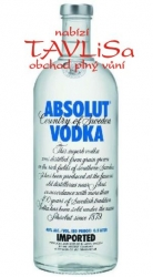 Image of vodka Absolut Clear 40% 0,375l