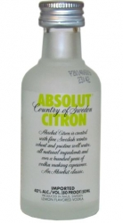 Image of Vodka Absolut Citron 40% 50ml miniatura