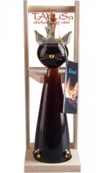 Image of sklo Kočka 0,2l náplň Griotte 30% dřevo stojánek