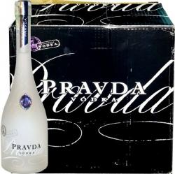 Vodka Pravda 40% 0,7l luxusní láhev x 6 ks
