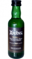 Whisky Ardbeg 10 Years 46% 50ml miniatura