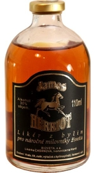 likér bylinný James Herriot 30% 110ml miniatura