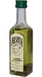 Absinth King of spirits Gold 70% 50ml LOR special