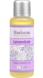 masážní olej Levandule* 500ml Saloos