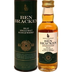 Whisky Ben Bracken Islay 40% 50ml miniatura