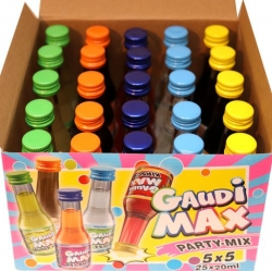 Gaudi MAX Party 20ml x25 ks miniatur