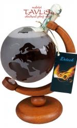 sklo Glóbus 0,5l negativní pískování náplň Tuzemák