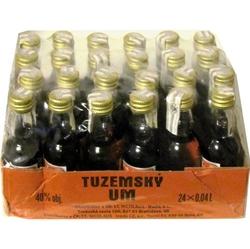 Rum Tuzemský UM Nicolaus 40% 40ml x24 miniatura