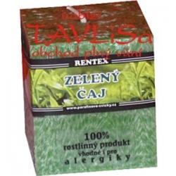 svíčka kostka Zelený čaj palmová 230g Rentex