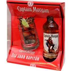 Rum Captain Morgan Spiced Gold 35% 0,7l Korbel č.2