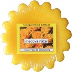 Vonný vosk Medová růže 22g aromalampa Rentex