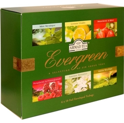 Collection Evergreen Tea 60x2g Ahmad Tea
