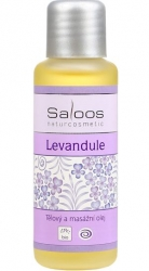 masážní olej Levandule* 125ml Saloos