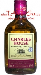 Whisky Charles House 40% 0,2l Scotch placatice