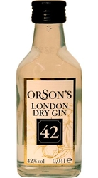 Gin Orsons London 42% 40ml v Sada Collection