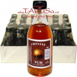 Rum Zsindelyes 37,5% 50ml x24 Crystal miniatura