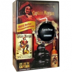 Rum Captain Morgan Spiced Gold 35% 0,7l děl. Koule