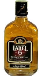 Whisky Label 5 40% 0,2l Placatice