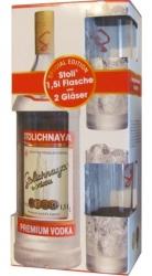 Vodka Stolichnaya Premium 40% 1,5l Maxi + 2x sklo