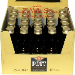 Rum POTT 40% 40ml x25 miniatura