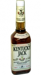 Whisky Bourbon Kentucky Jack 3 Years 40% 0,7l USA