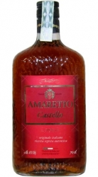 Amaretto Castello 18% 0,7l Originale Italiano
