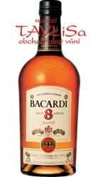 Rum Bacardi Aňos 8 Years 40% 0,7l