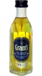Whisky Grants Ale Cask 40% 50ml sada miniatura