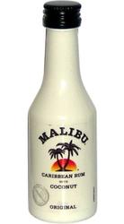 rum Malibu white 21% 50ml miniatura