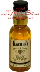 whisky Teachers scotch 40% 50ml miniatura