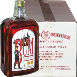 rum Tuzemák Bum Pražské gardy 40% 1l x9 Fruko