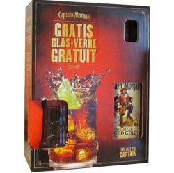 Rum Captain Morgan Spiced Gold 35% 0,7l Korbel Meč