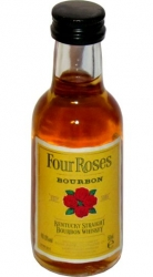 Whisky bourbon Four Roses 40% 50ml miniatura etik2