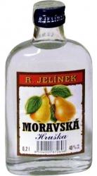 Hruška Moravská 40% 0,2l Jelínek placatice
