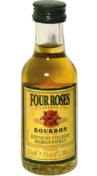 Whisky bourbon Four Roses 40% 50ml miniatura