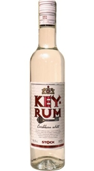 rum KEY Rum White 37,5% 0,5l Caribbean