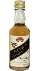 Whisky Canadian Crown 40% 50ml Kord miniatura