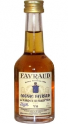 Cognac FAVRAUD VS 40% 50ml France miniatura