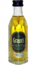 Whisky Grants Sherry Cask 40% 50ml sada miniatura