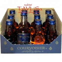 koňak Courvoisier V.S.O.P. 40% 30ml x12 miniatura