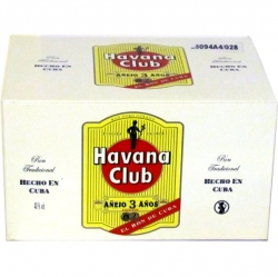 Rum Havana Club Anejo 3 Anos 40% 50ml x20 mini