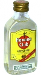 Rum Havana Club Anejo 3 Anos 40% 50ml miniatura