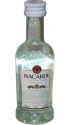 Rum Bacardi Carta Blanca 40% 50ml miniatura