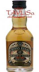 Whisky Chivas Regal 12y 40% 50ml obr2 miniatura