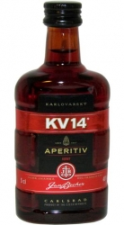 Aperitiv KV14 40% 50ml Sada-4 Jan Becher miniatura